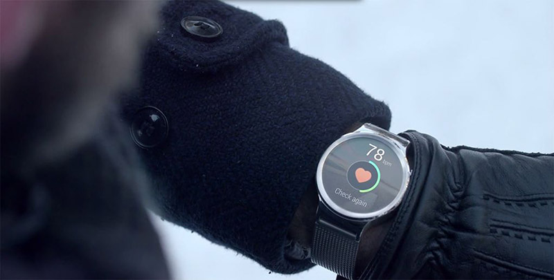 huawei smartwatch hearth rate